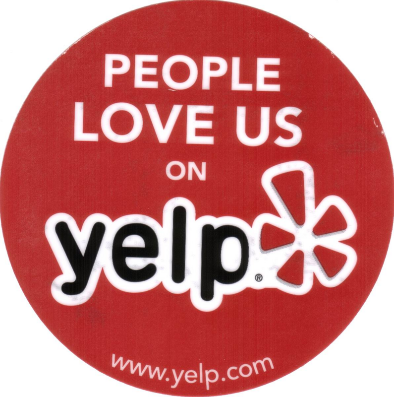 Read our YELP reviews. Click here!